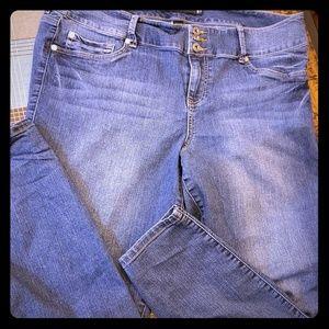Torrid sz 20 skinny jeans